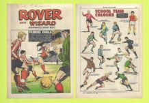 Rover Comic Manchester United v Watford Denis Law June 28th 1969